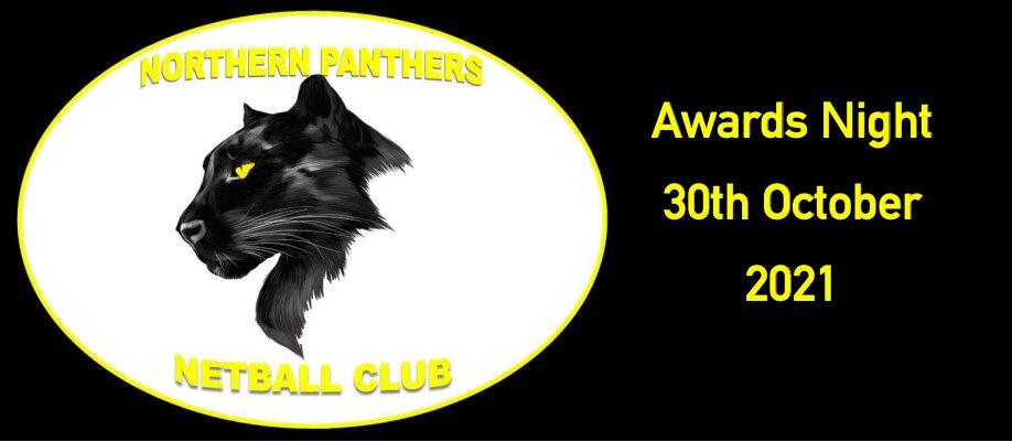 Northern Panthers Netball Club Awards Night