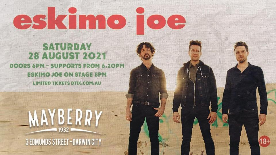 ESKIMO JOE // LIVE IN CONCERT AT MAYBERRY