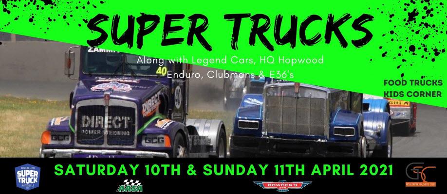 Super Trucks Round One