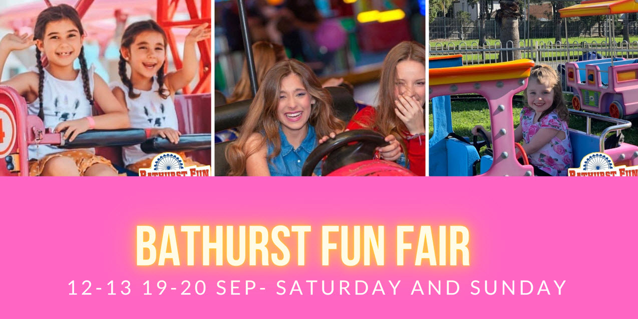 Bathurst Fun Fair | SUNDAY 20 SEPTEMBER