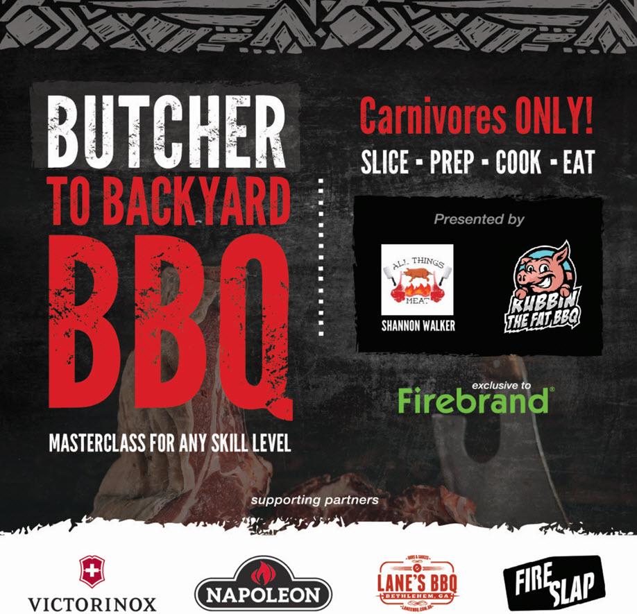 Butcher to Backyard BBQ Class