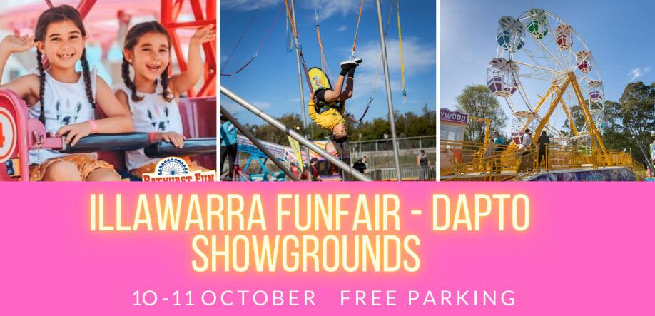 Sydney Fun Fair | Dapto Showgrounds | SUNDAY 11 OCTOBER