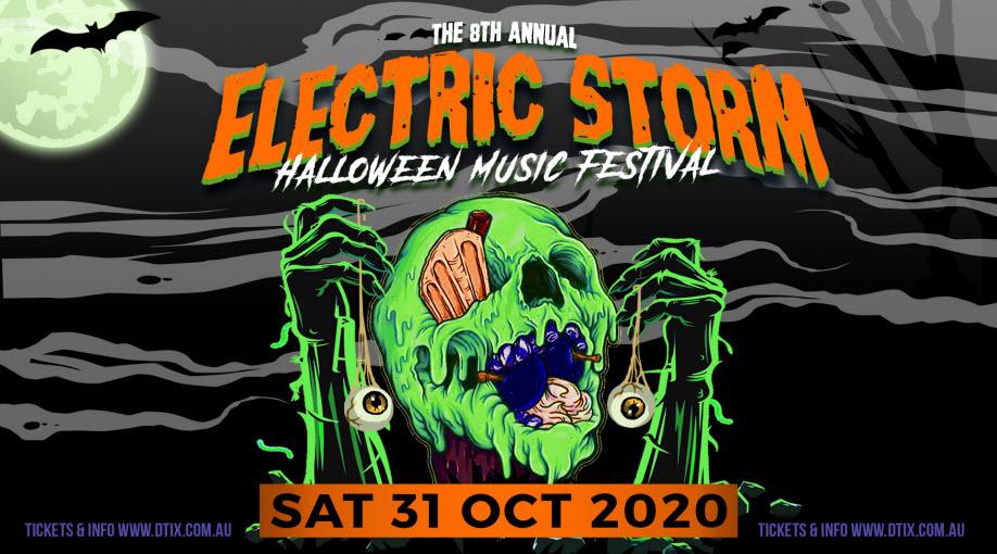 ELECTRIC STORM HALLOWEEN MUSIC FESTIVAL 2020