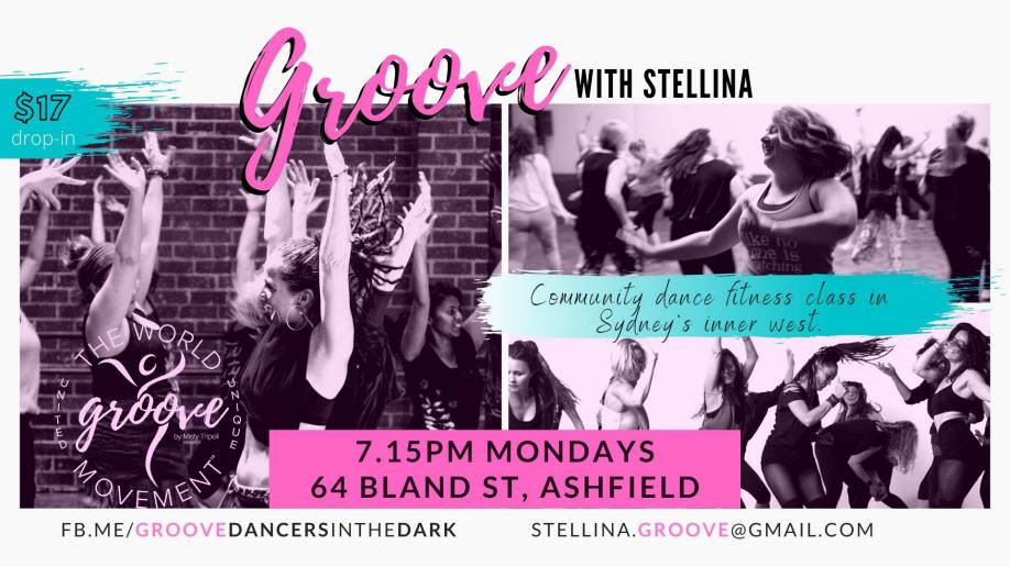 GROOVE with Stellina 7.15pm Mondays, Ashfield