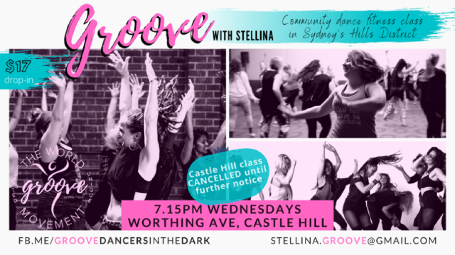 GROOVE with Stellina 7.15pm Wednesdays, Castle Hill