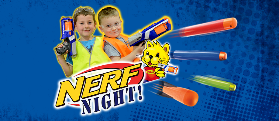 Lollipops Bayswater Nerf Night - February
