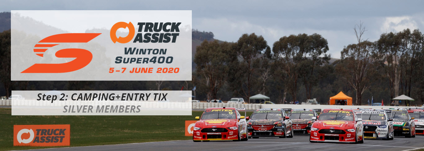 Winton Super400 2020: CAMPING+ENTRY TICKETS   SILVER MEMBERS