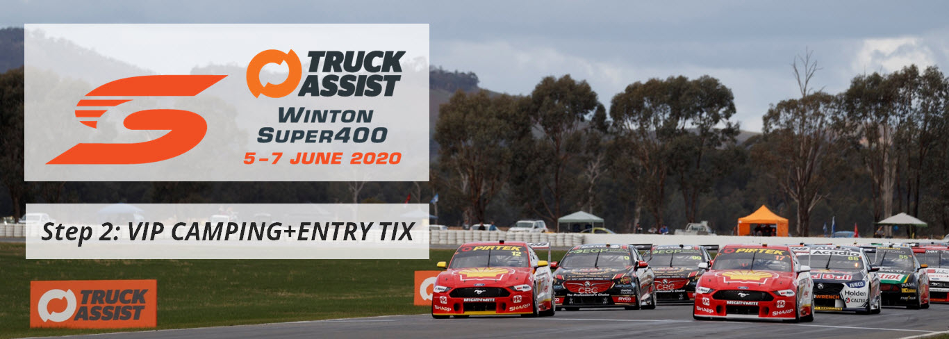 Winton Super400 2020: VIP CAMPING+ENTRY TICKETS