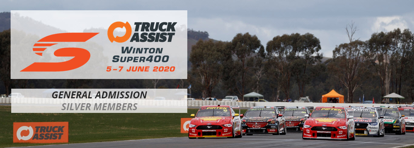 Winton Super400 2020 | General Admission | SILVER MEMBERS