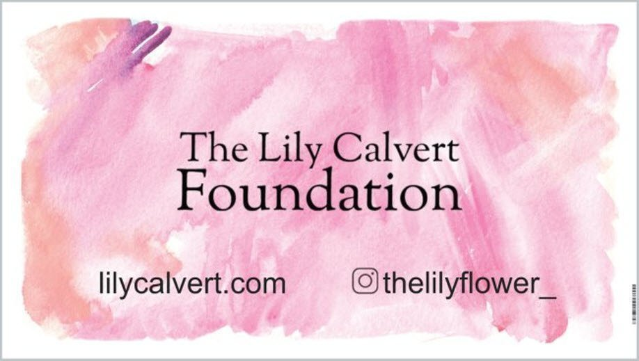 Lily Calvert Foundation Fundraiser 'Wear White Drink Pink'