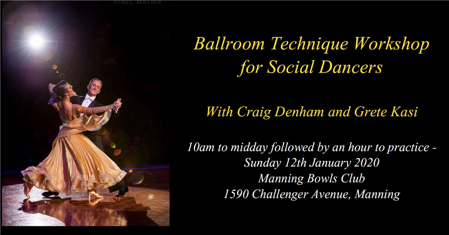 Ballroom Technique Workshop for Social Dancers
