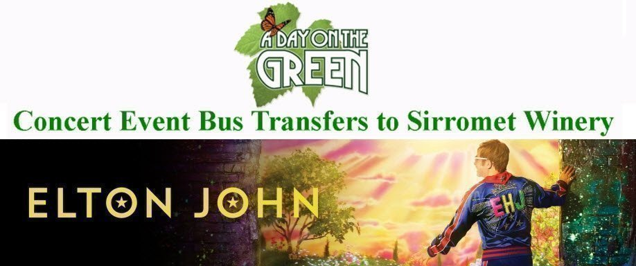A Day on the Green with Elton John Bus Transfers: Saturday 18 January 2020