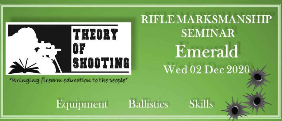 Rifle Marksmanship Seminar - Emerald