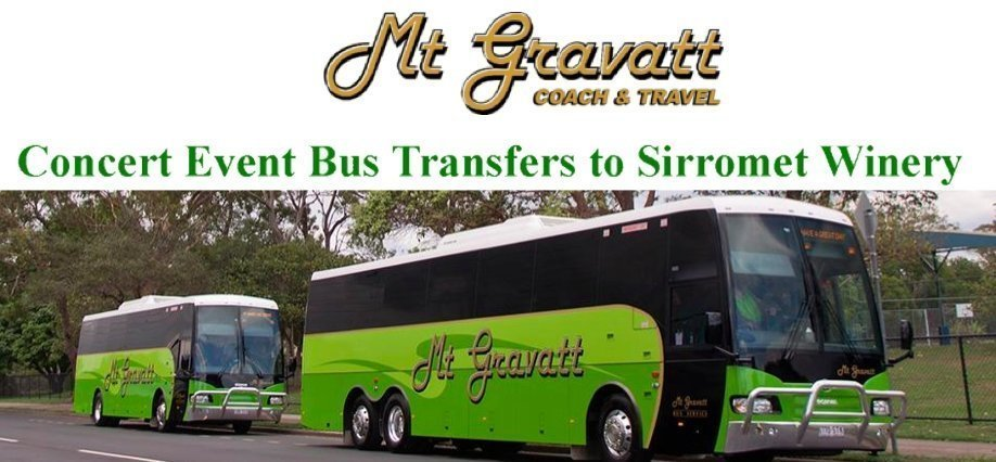 The Big 90's Party at Sirromet Winery Bus Transfers