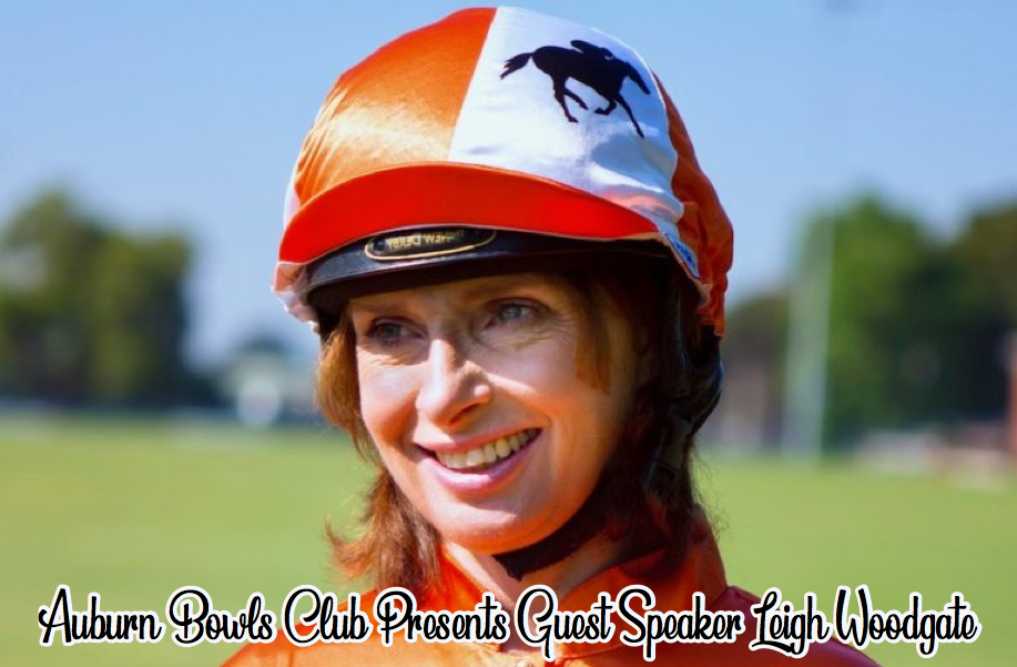 Auburn Bowls Club Guest Speaker Leigh Woodgate
