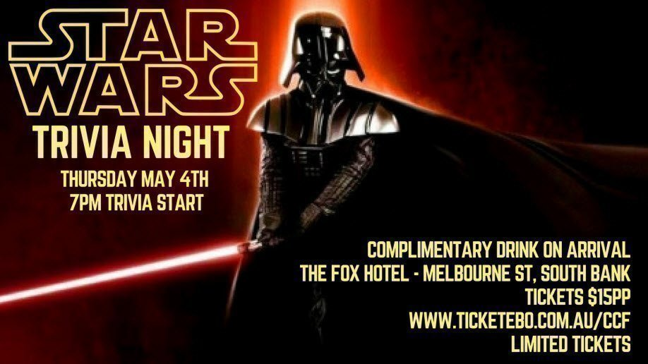 Childhood Cancer Foundation's Star Wars Trivia Night