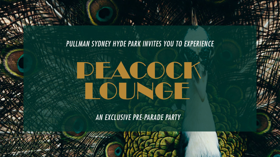 The Peacock Lounge: Sydney Pride Festival 2020 Pre-Parade Party