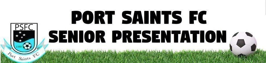 Port Saints FC Senior Presentation