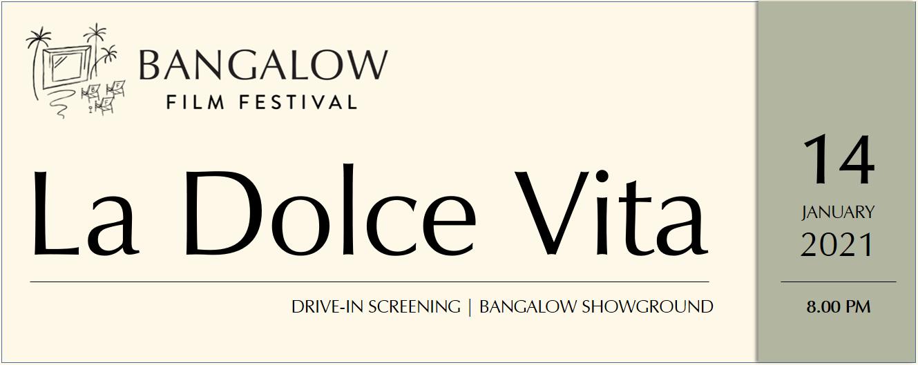 FESTIVAL OPENING - La Dolce Vita