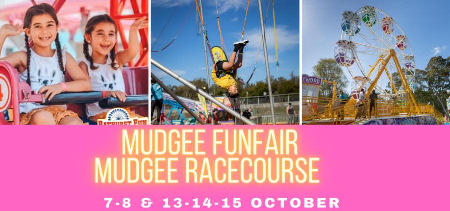 Mudgee Fun Fair   Mudgee Racecourse   SATURDAY 14 NOVEMBER