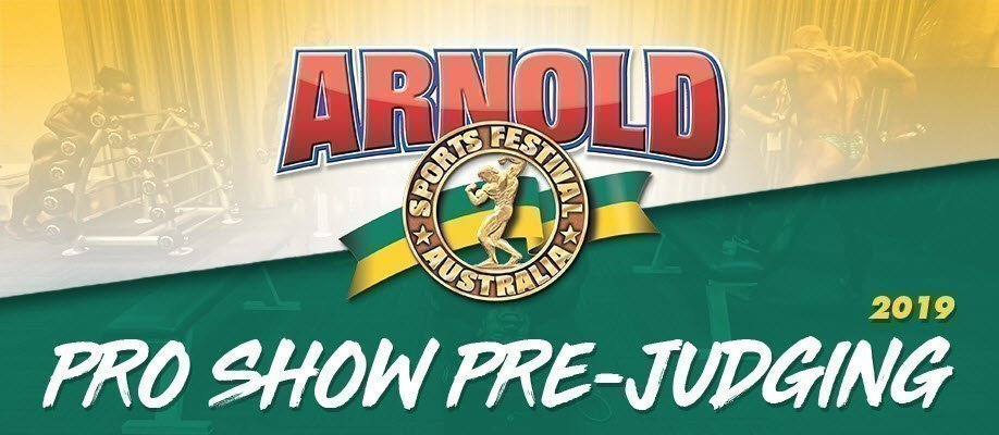 Arnold Classic 2019: Pro Show Pre-Judging