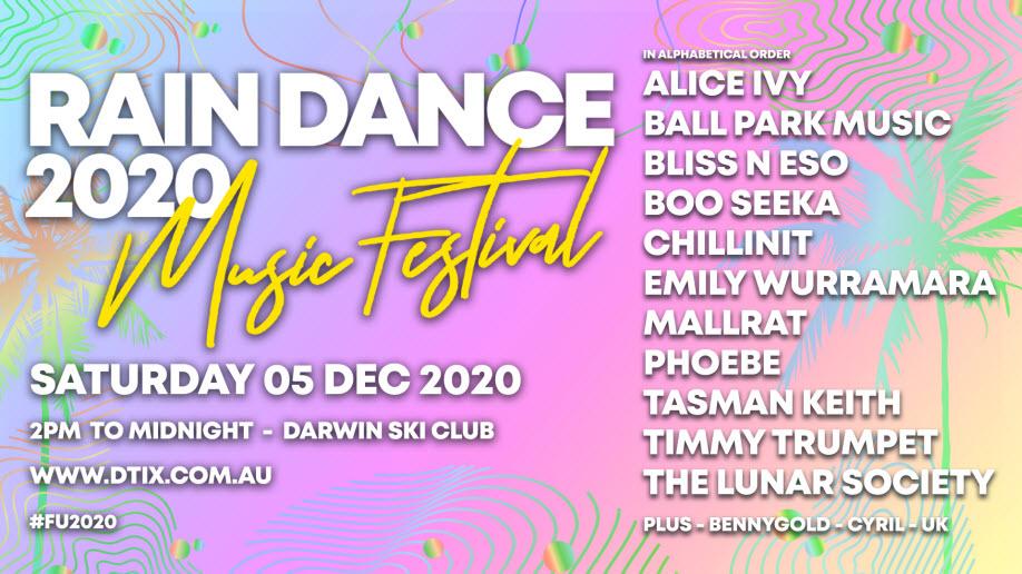 RAINDANCE 2020 Music Festival