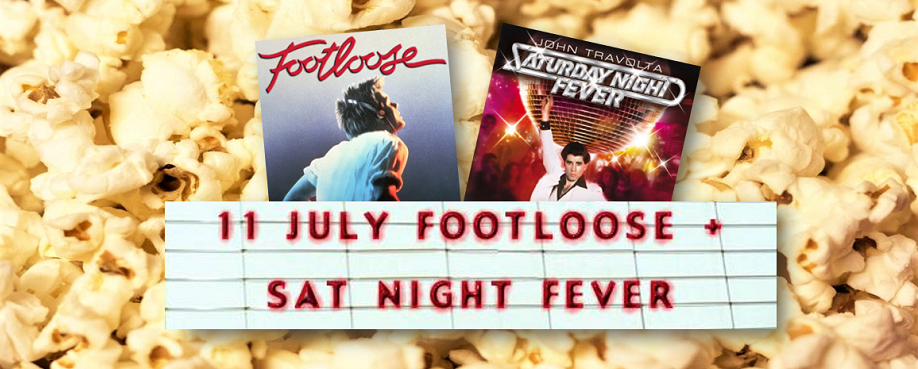 The Bangalow Drive-in Cinema: All-Dancing Double Feature Saturday!