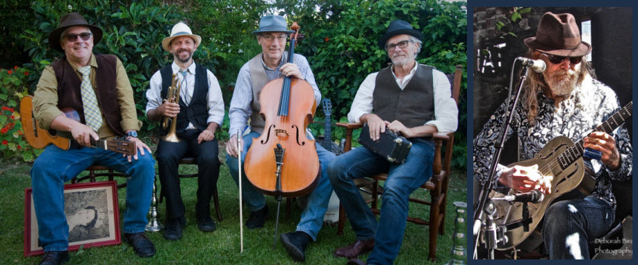 Pre-War Blues, Jazz & Ragtime Featuring the Wayward Earls supported by Martin Lee Cropper