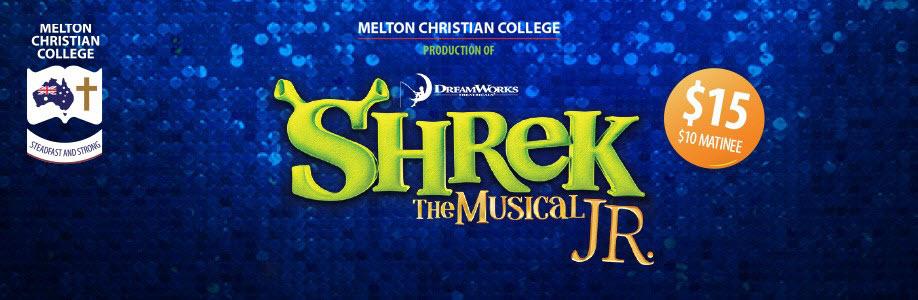 Melton Christian College presents Shrek The Musical JR!