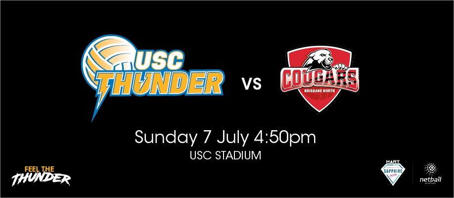 Round 3 – USC Thunder v Brisbane North Cougars