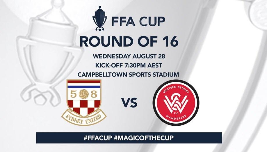 FFA Cup Round of 16: Sydney United 58FC vs Western Sydney Wanderers FC
