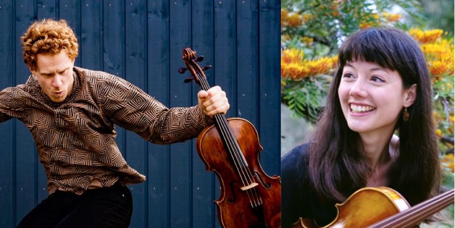 Viola by Viola – Katie Yap and William Vyvan Murray in Queenscliff   SAT 3 JULY