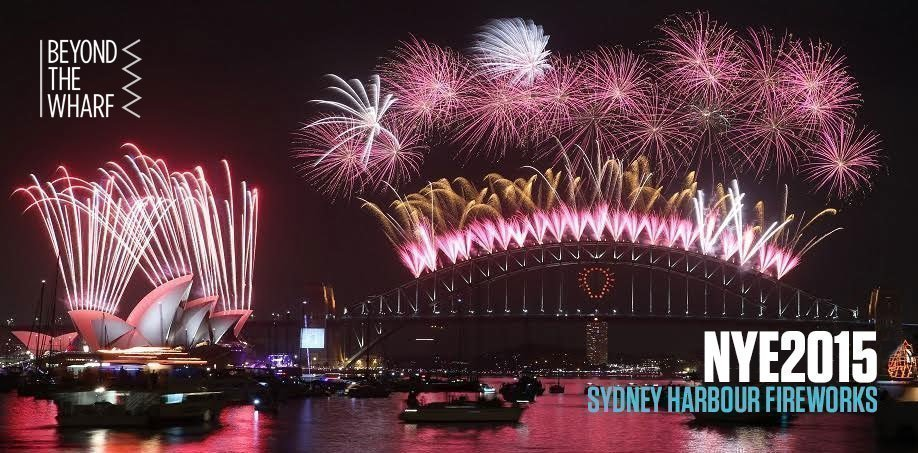 NYE 2015 Sydney Harbour 9pm and Midnight Fireworks: At Circular Quay