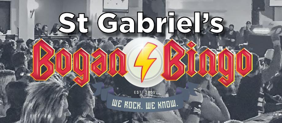 St Gabriel's Bogan Bingo