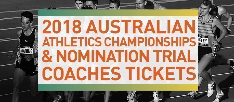 2018 Australian Athletics Championships - Coaches Pass