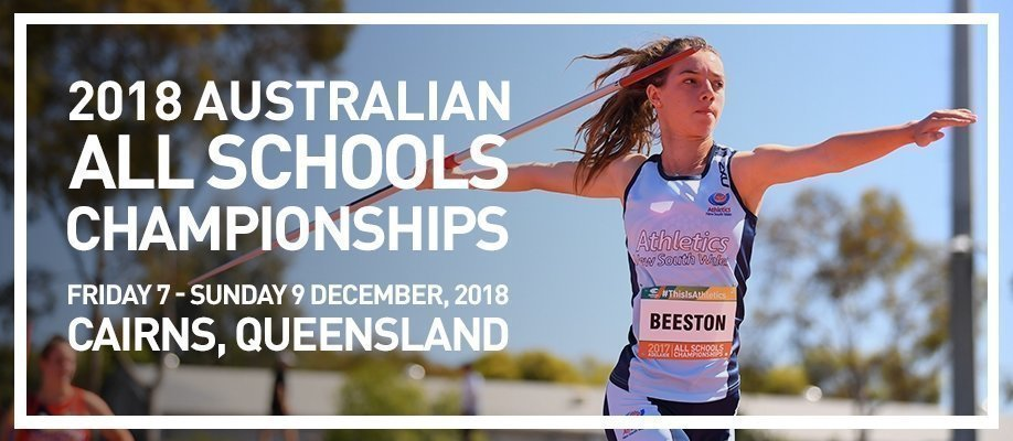 Australian All Schools Championships 2018