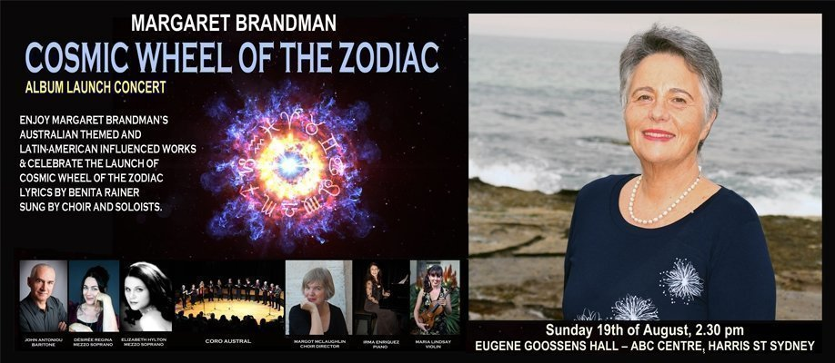 Cosmic Wheel of the Zodiac Album Launch Concert