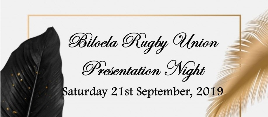 Biloela Rugby Union Presentation Night