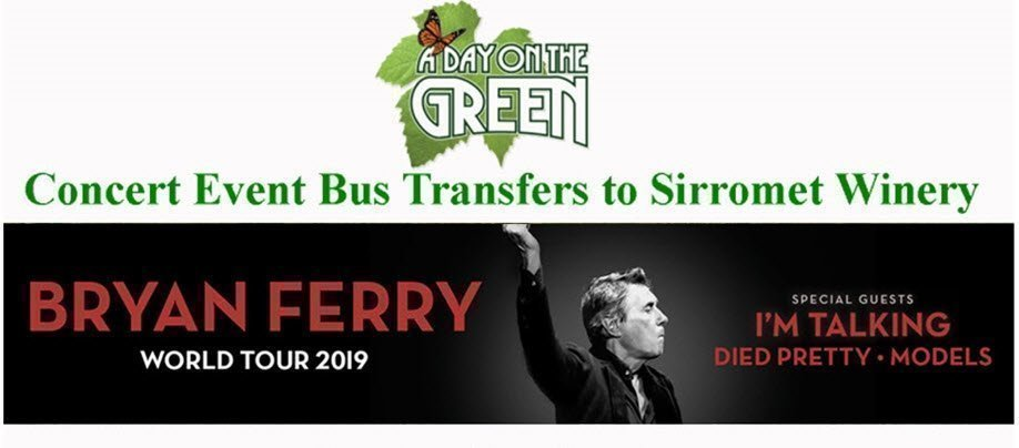 A Day on the Green Bryan Ferry Bus Transfers