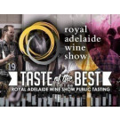 Taste of the Best 2016 - Royal Adelaide Wine Show Public Tasting
