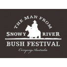 Man from Snowy River Bush Festival Logo