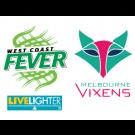West Coast Fever vs Melbourne Vixens