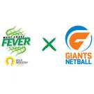 West Coast Fever vs Giants Netball