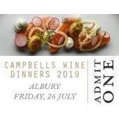 Campbells Regional Wine Dinner