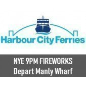 NYE 2018 Sydney Harbour 9pm Fireworks: Departing Manly Wharf