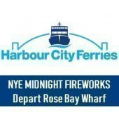NYE 2018 Sydney Harbour Midnight Fireworks - Departing Rose Bay Wharf