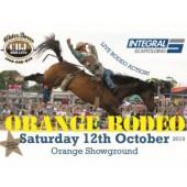 Orange East to West Coast Rodeo Championships 2019