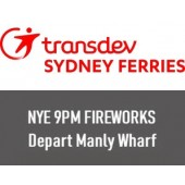NYE 2019 Sydney Harbour 9pm Fireworks: Departing Manly Wharf