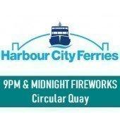 NYE 2018 Sydney Harbour 9pm and MidnightFireworks - At Circular Quay