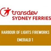 NYE 2019 Sydney Harbour of Lights 9pm & Midnight Fireworks: Emerald 1 Depart Circular Quay